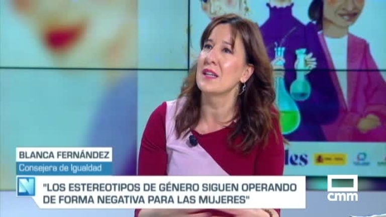 Blanca Fernández, consejera de Igualdad, en CMM:
