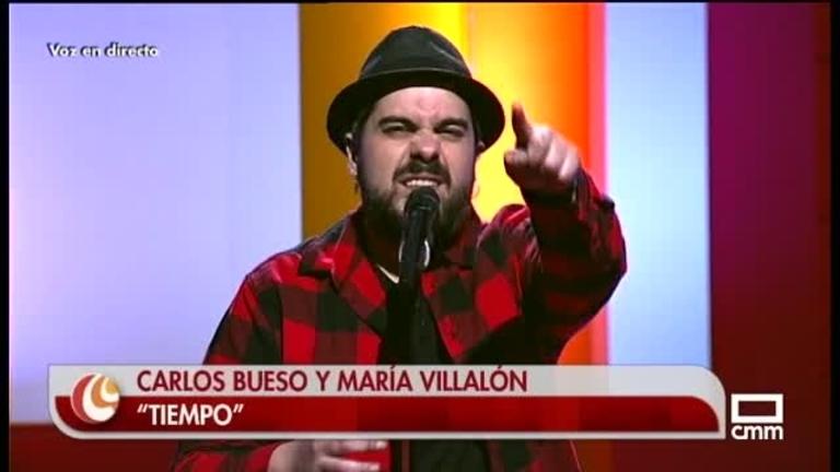 Carlos Bueso y María Villalón