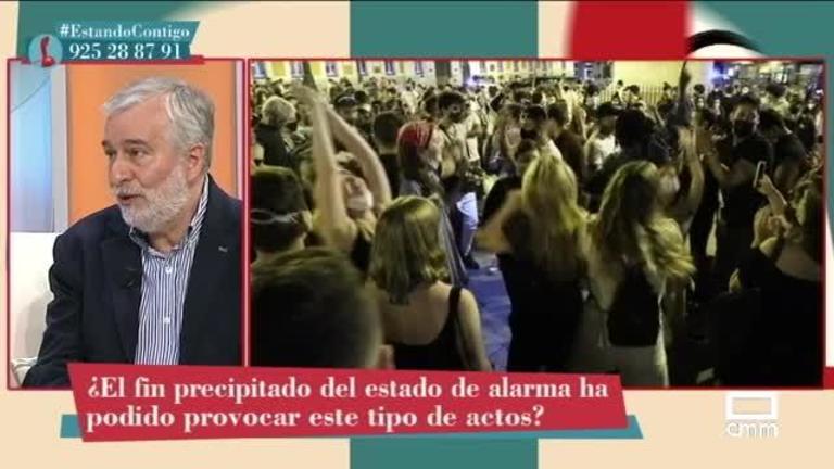 """Ángel Gil, epidemiólogo: """"Dentro de 15 días, podríamos volver a tener saturación del sistema sanitario"""""""