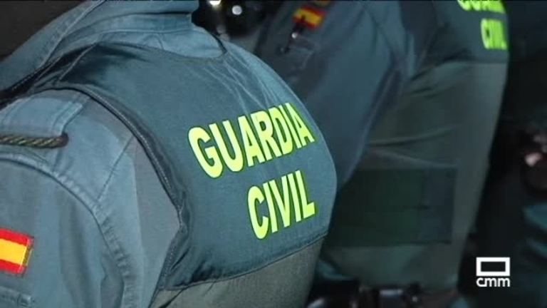 Control de la USECIC de la Guardia Civil en la frontera de Castilla-La Mancha
