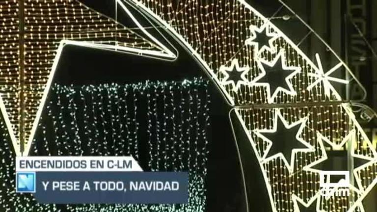 Comienza el encendido de luces de Navidad en Castilla-La Mancha