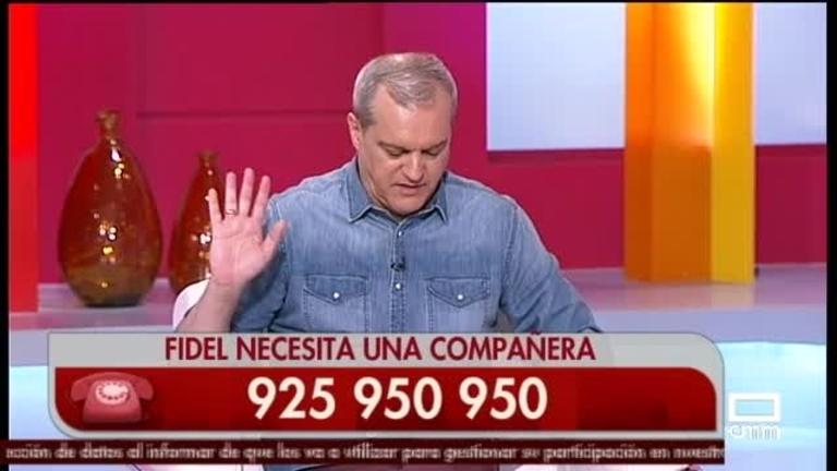 Fidel tiene 78 años, vive en Villarrobledo y busca compañía