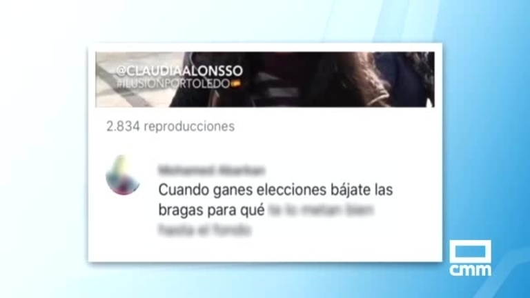 La candidata del PP a Toledo, Claudia Alonso, denuncia acoso en redes sociales