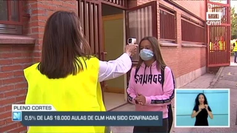 Las Cortes instan al gobierno a mantener el control de la alerta sanitaria