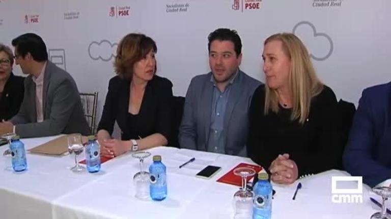 Los comités provinciales del PSOE aprueban las listas de candidatos al Congreso y Senado