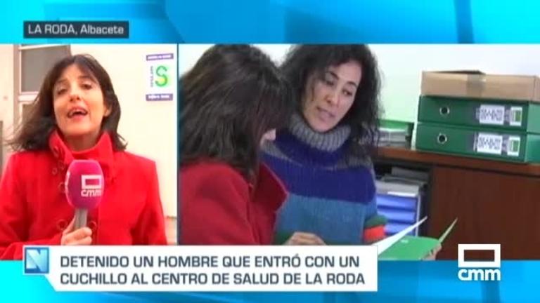 Detenido tras amenazar con un cuchillo a sanitarios en el centro de salud de La Roda