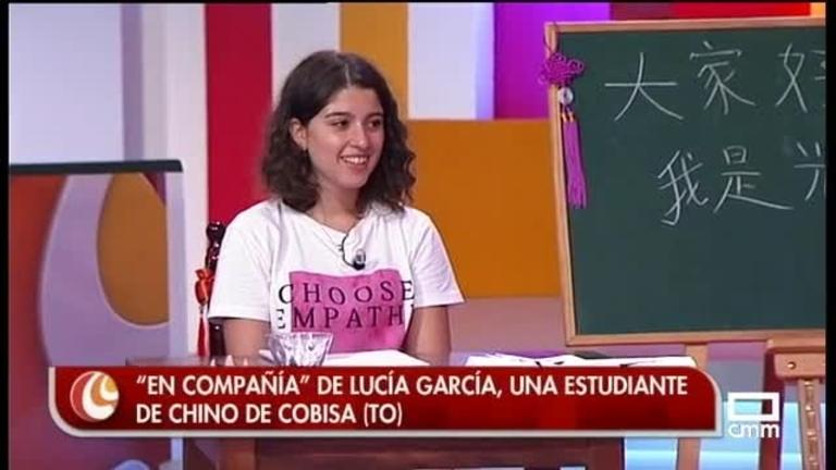 Master class de chino con Lucía