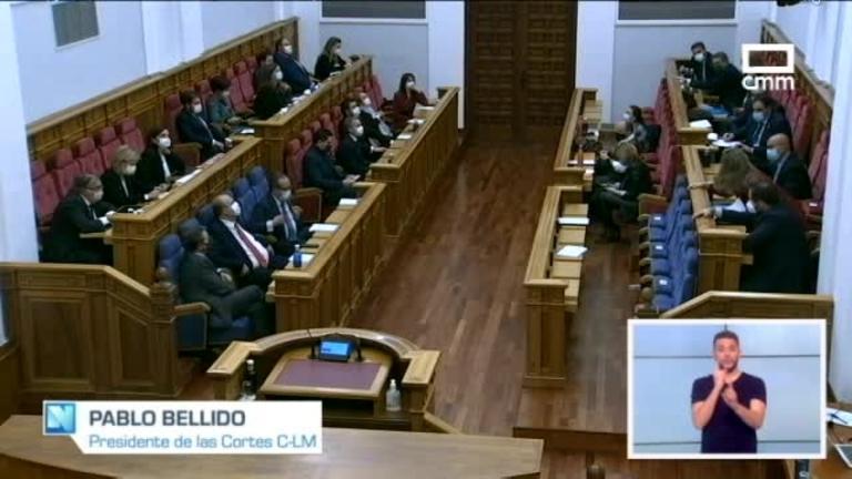 Las cortes de CLM aprueban los presupuestos regionales para 2021