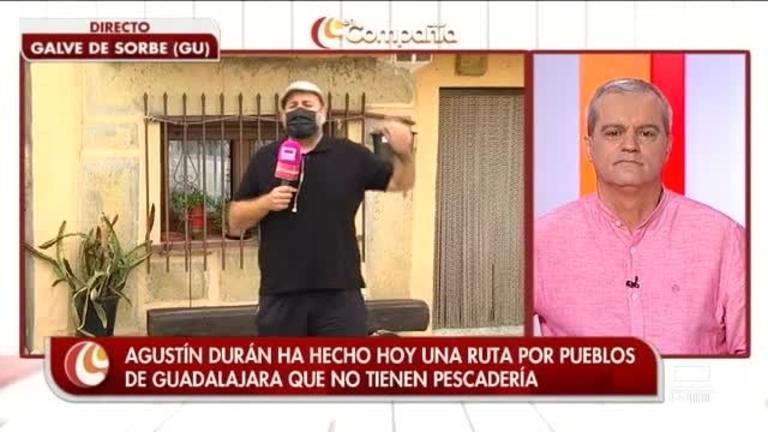 Agustín Durán de ruta por pueblos sin pescadería