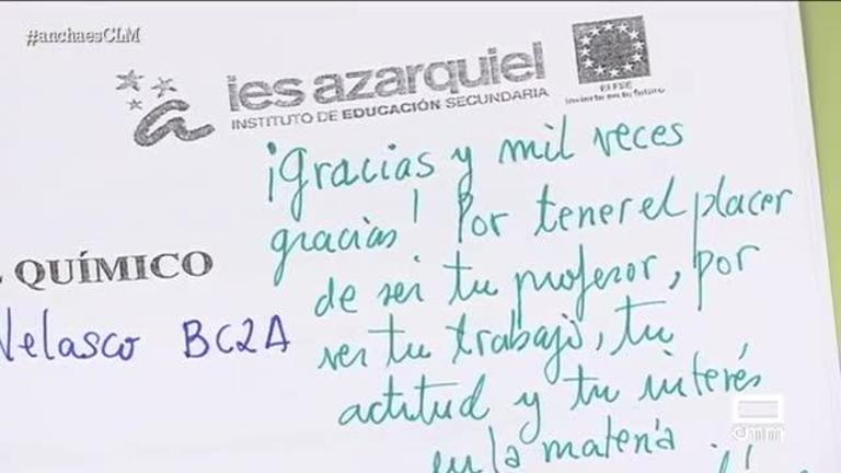 Ángel Tercero, el profesor que se ha hecho viral por sus anotaciones en los éxamenes