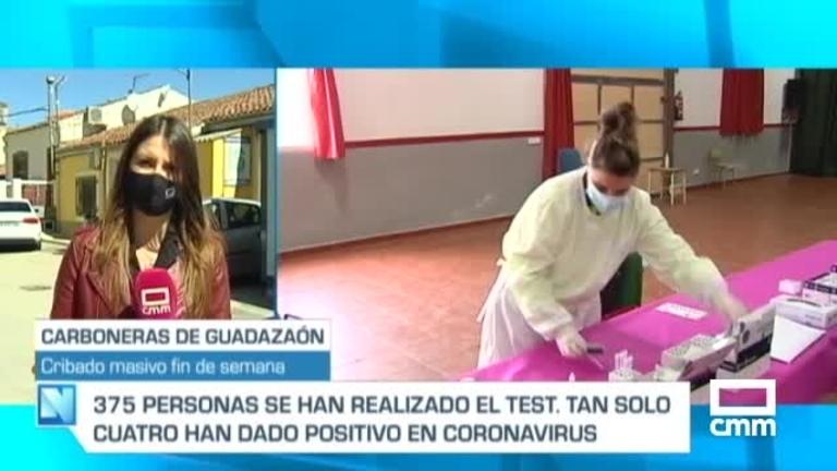 Cribado masivo en Carboneras de Guadazaón (Cuenca) tras detectar 20 positivos covid