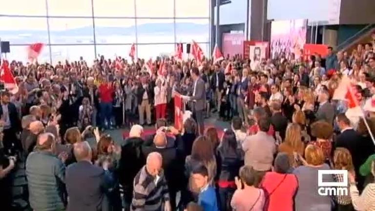 PSOE: Sánchez en Vigo, Ábalos y Page en Puertollano