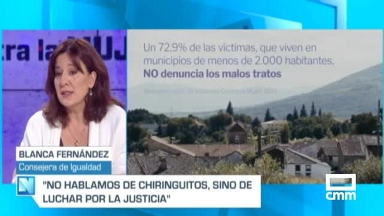 Blanca Fernández, en CMM: \\