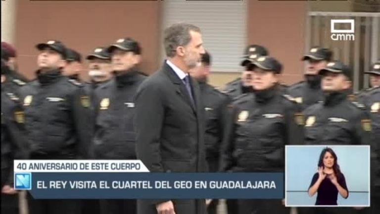 Felipe VI de visita en CLM