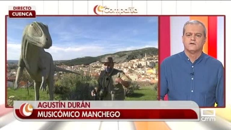 Agustín visita el Museo Paleontológico de Cuenca