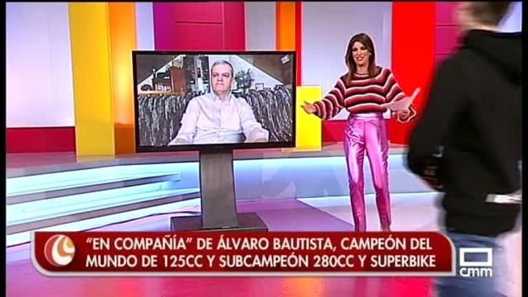 Álvaro Bautista, medalla al mérito deportivo de la región