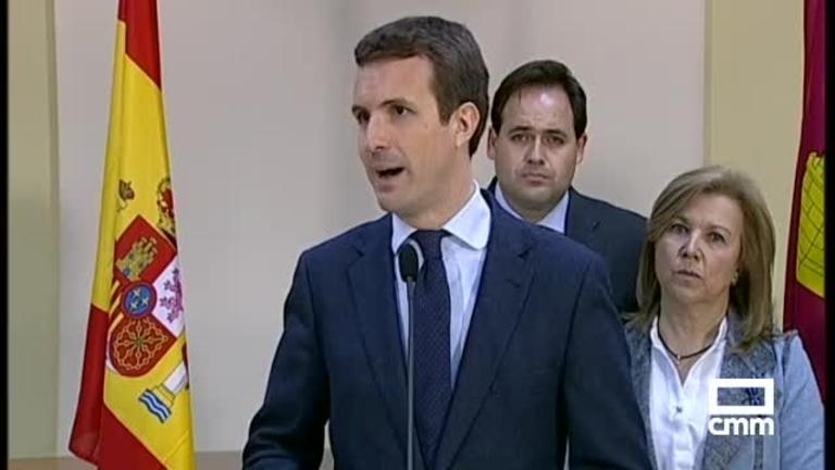PP, Ciudadanos y Vox convocan una manifestación el domingo contra Sánchez