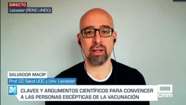 Entrevista a Salvador Macip