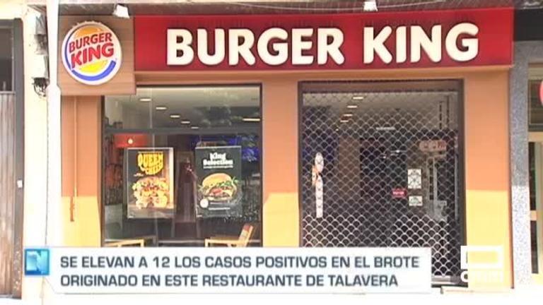 Brote covid en un Burger King de Talavera: al menos 12 contagios entre trabajadores