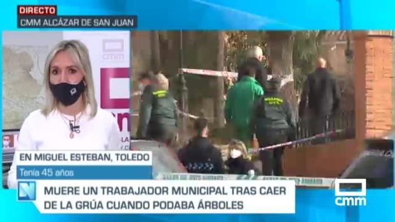 Accidente laboral: Muere un trabajador municipal en Miguel Esteban (Toledo), decretados tres días de luto