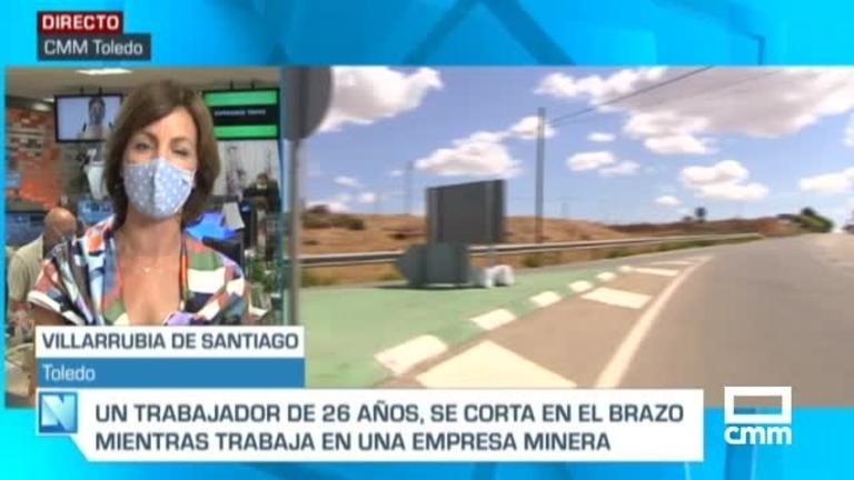 Accidente laboral en una empresa minera de Villarrubia de Santiago, Toledo