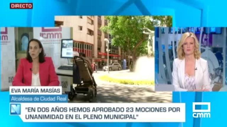Masías, alcaldesa de Ciudad Real, en CMM: \\