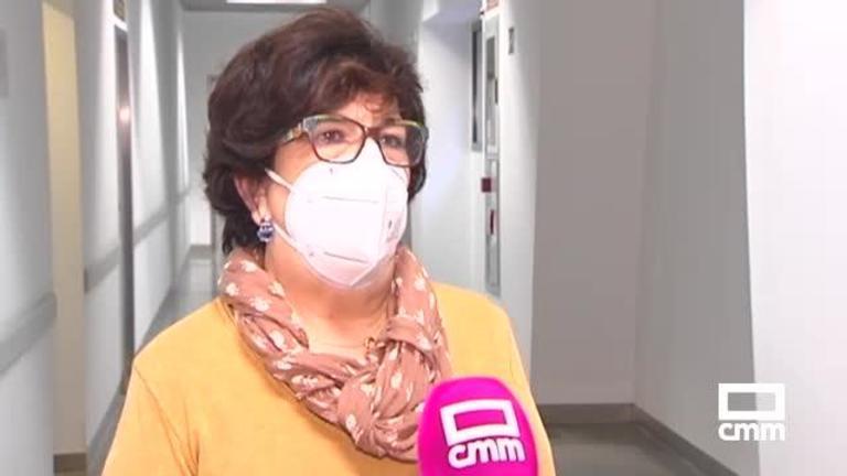 La historia de Eloísa, la enfermera de Ciudad Real que retrasó su jubilación en plena pandemia