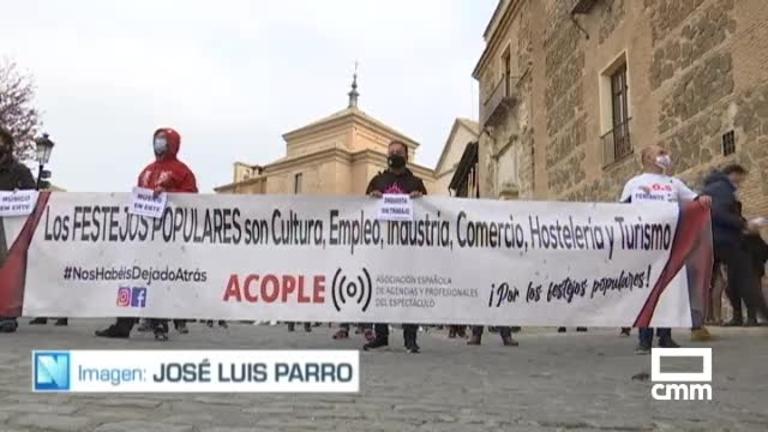 Los feriantes de Castilla-La Mancha piden un protocolo de festejos seguros y que \\