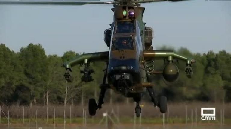 El helicóptero Tigre, el arma más avanzada del Ejército español