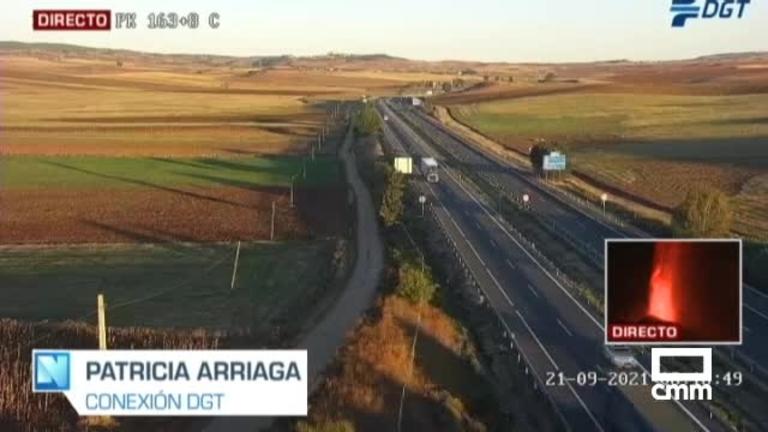Muere un camionero tras chocar contra otro camión en Villarrubio (Cuenca)