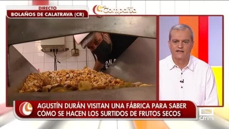Agustín Durán en busca de frutos secos