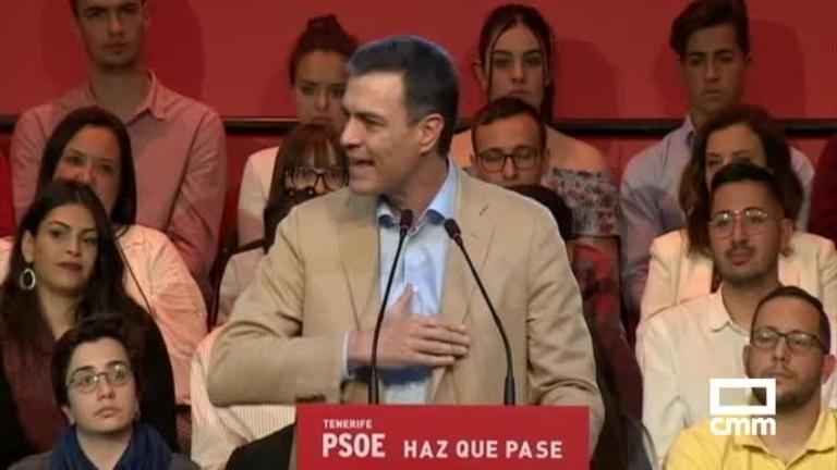 PSOE: Pedro Sánchez reclama una mayoría suficiente para no tener que depender de nadie