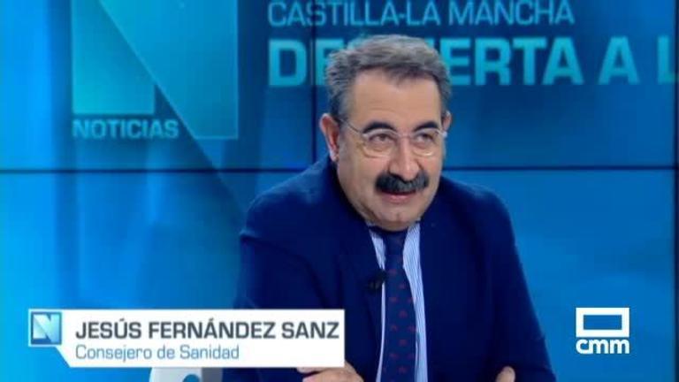 Entrevista a Jesús Fernández Sanz, Consejero de Sanidad