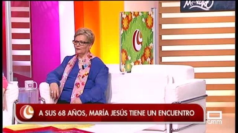 María Jesús viene a conocer a José Jaime