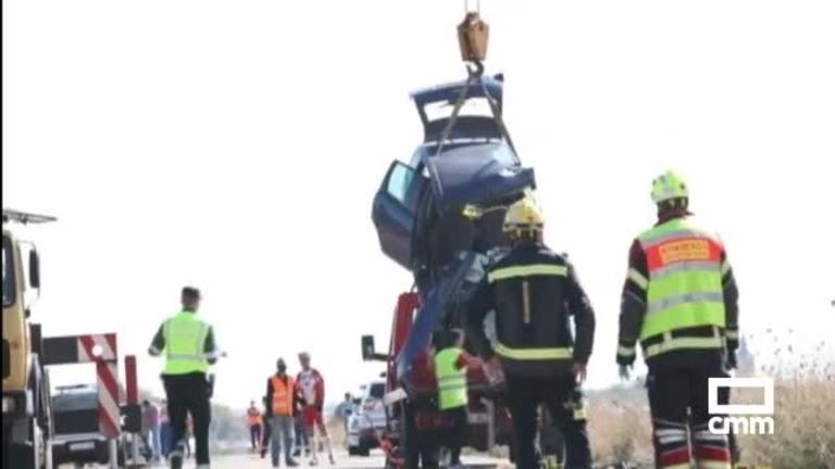 Corral de Almaguer (Toledo) decreta luto oficial tras el accidente en Lillo (Toledo)