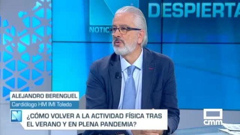 Entrevista a Alejandro  Berenguel en CLM Despierta