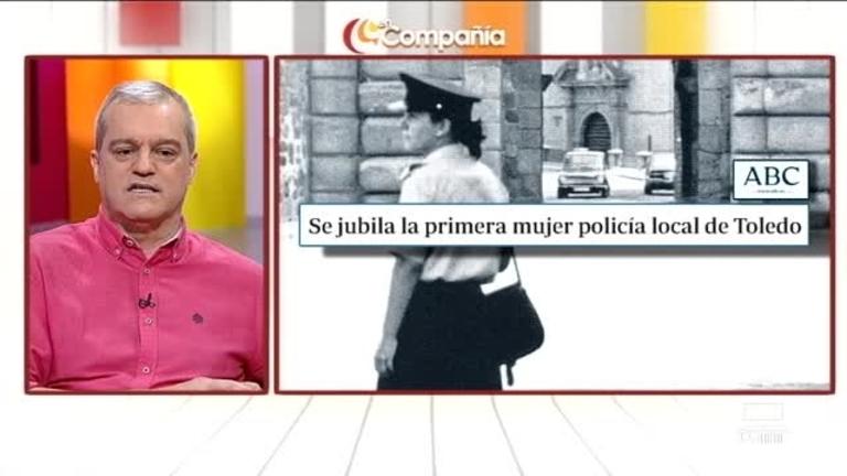 Primera mujer Policía Local de Toledo