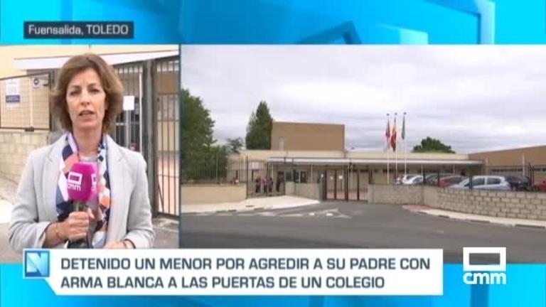 Un menor, detenido por apuñalar a su padre a las puertas de un colegio de Fuensalida