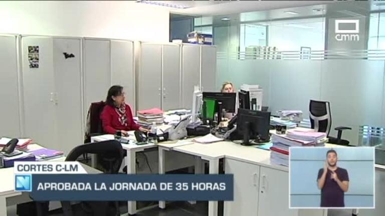Vuelve la jornada laboral de 35 horas a la administración regional