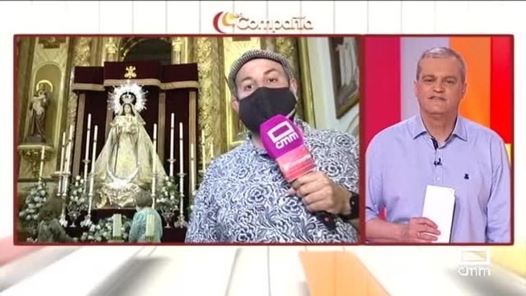 Agustín Durán visita a la Virgen de Gracia