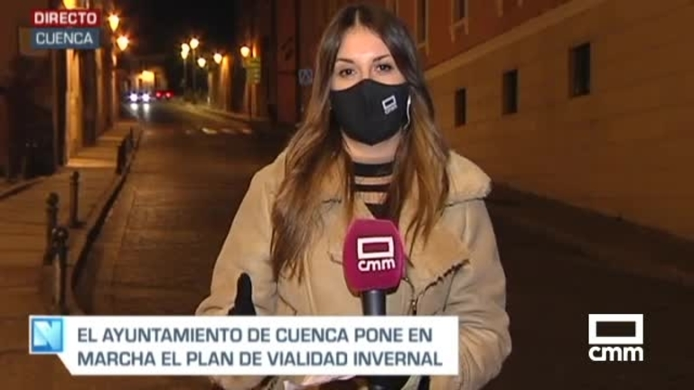 El Ayuntamiento de Cuenca activa esta madrugada el Plan Municipal de Vialidad Invernal ante posibles nevadas