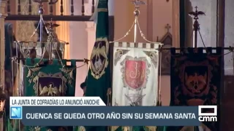 Sin procesiones en la Semana Santa de Cuenca y Toledo