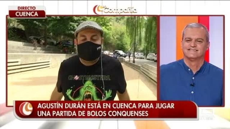 Jugamos a los bolos conquenses con Agustín Durán