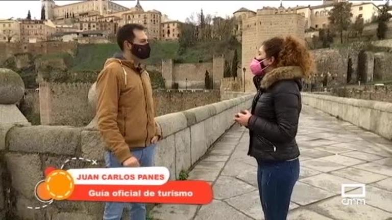 Paseando por la senda ecológica de Toledo