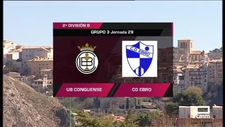 UB Conquense - CD Ebro
