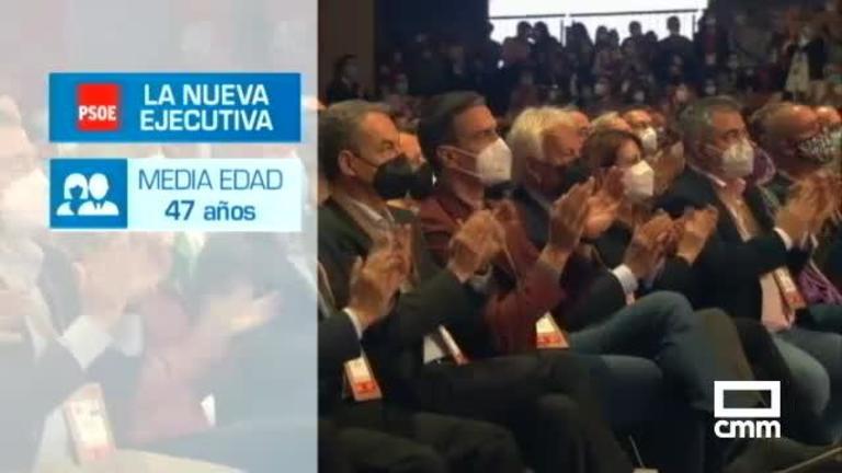 Isabel Rodríguez y Martínez Chana en la nueva Ejecutiva del PSOE; Tolón presidirá el Comité Federal