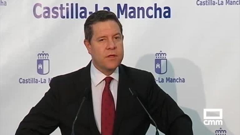 García-Page se compromete a que CLM encabece los estándares nacionales en Sanidad, Educación y Dependencia