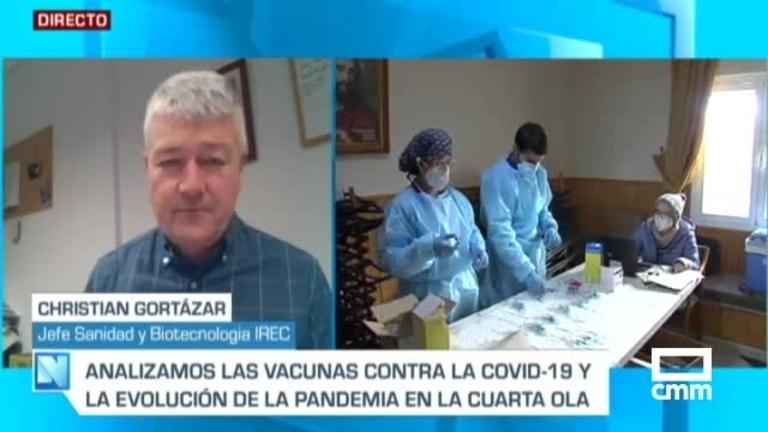 Gortázar, IREC, en CMM:
