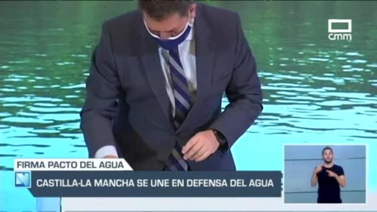Acuerdo histórico en Castilla-La Mancha en defensa del agua