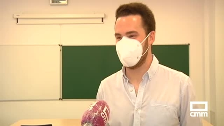 Daniel Gómez, estudiante de Medicina en Ciudad Real, mejor MIR 2021